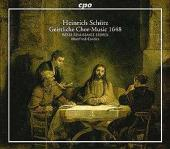Album artwork for Schutz: GEISTLICHE CHOR-MUSIC 1648