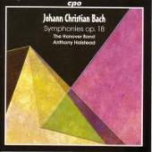 Album artwork for J.C. Bach: SIX SYMPHONIES OP. 18