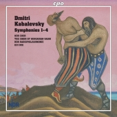 Album artwork for Kabalevsky: Symphonies Nos. 1 - 4