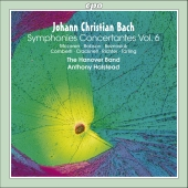 Album artwork for JC BACH - SYMPHONIES CONCERTANTES, VOL. 6