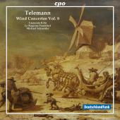 Album artwork for Telemann: Wind Concertos Vol. 8