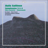 Album artwork for Sallinen: SYMPHONIES 2 & 4