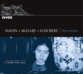 Album artwork for PIANO RECITAL (WINNER SCHUBERT