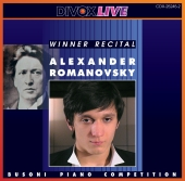 Album artwork for BUSONI COMPETITION 2001 WINNER