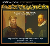 Album artwork for Claudio Merulo: COMPLETE WORKS FOR ORGAN