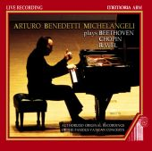 Album artwork for Michelangeli: Plays Beethoven / Chopin / Ravel