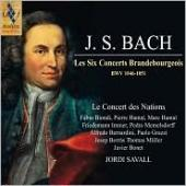 Album artwork for Bach: Les Six Concerts Brandebourgeois BWV1046-105