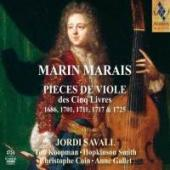 Album artwork for Marin Marais Pieces de Viole des Cinq Livres