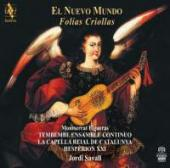 Album artwork for El Nuevo Mundo folias Criollas