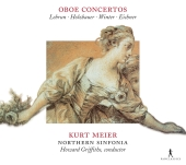 Album artwork for Kurt Meier: Oboe Concertos of Lebrun, Holzbauer, W