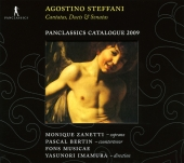 Album artwork for STEFANI - CANTATAS, DUETS AND SONATAS