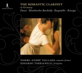 Album artwork for The Romantic Clarinet in Germany (Taillard)