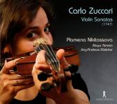 Album artwork for Carlo Zuccari: Violin Sonatas (1747)