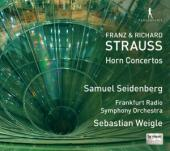 Album artwork for Horn Concertos by R. and F. Strauss