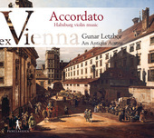 Album artwork for Accordato - Habsburg violin music