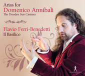 Album artwork for Arias for Domenico Annibali - The Dresden Star Cas