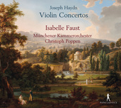 Album artwork for Haydn: Violin Concertos  / Faust