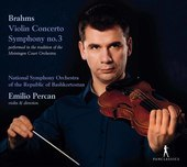 Album artwork for Brahms: Violin Concerto in D Major, Op. 77 & Symph