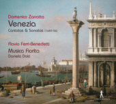 Album artwork for Venezia - Venetian Cantatas & Sonatas (1689-1696)