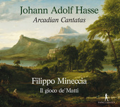 Album artwork for Hasse: Arcadian Cantatas