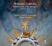 Album artwork for Caldara: Motetti a due e tre voci, Op. 4