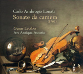 Album artwork for Lonati: Sonate da camera