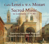 Album artwork for Lenzi & Mozart: Sacred Music in Lombardy 1770-80