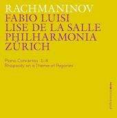 Album artwork for Rachmaninov: Piano Concertos Nos. 1-4 - Rhapsody o
