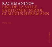 Album artwork for Rachmaninov: Piano Trios