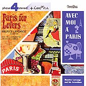 Album artwork for PARIS FOR LOVERS / AVEC MOI A PARIS