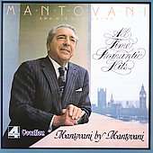 Album artwork for Mantovani - ALL TIME ROMANTIC HITS