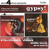 Album artwork for WERNER MULLER AND HIS ORCHESTRA: SPECTACULAR TANGO