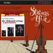 Album artwork for Strings Afire, Exciting Sounds. Herman Clebanoff