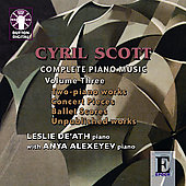 Album artwork for COMPLETE PIANO MUSIC VOLUME THREE