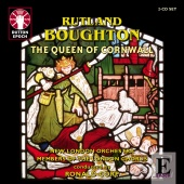 Album artwork for BOUGHTON. The Queen of Cornwall. New London Orches