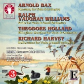 Album artwork for Bax, Vaughan williams, Holland, Harvey: Viola Musi