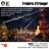 Album artwork for d'Erlanger: Concerto Symphonique. BBC Concert/Wil