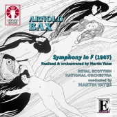 Album artwork for BAX. Symphony in F. Royal Scottish National Orches