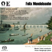 Album artwork for MENDELSSOHN. Piano Concerto. Sangiorgio/Yates (SAC
