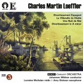 Album artwork for LOEFFLER. Divertissement. BBC Concert Orchestra/Wi