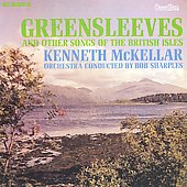Album artwork for GREENSLEEVES AND OTHER SONGS OF THE BRITISH ISLES
