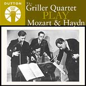 Album artwork for GRILLER QUARTET PLAY MOZART AND HAYDN