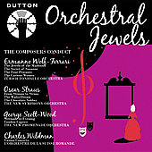 Album artwork for ORCHESTRAL JEWELS - THE COMPOSERS CONDUCT