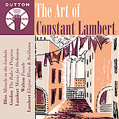 Album artwork for ART OF CONSTANT LAMBERT, THE