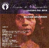 Album artwork for MARIAN ANDERSON