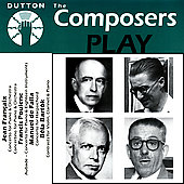 Album artwork for THE COMPOSERS PLAY