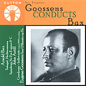 Album artwork for GOOSSENS CONDUCTS BAX