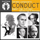 Album artwork for GERMAN COMPOSERS CONDUCT