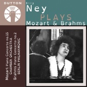 Album artwork for Elly Ney Plays Mozart & Brahms. Ney, Berlin Philha