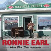 Album artwork for Maxwell Street / Ronnie Earl & the Broadcasters